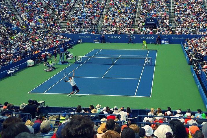 テニスハードコート